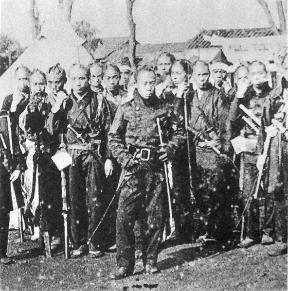 ファイル:Bakufu soldiers in Western uniform.jpg
