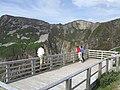 Balcony overlooking the Bunglass Cliffs - geograph.org.uk - 1939656.jpg
