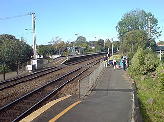 Baldwin Avenue railway station - The old layout (pre-2010)