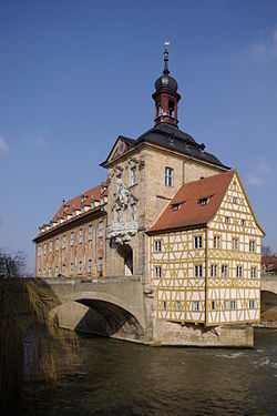 Altes Rathaus in Bamberg.