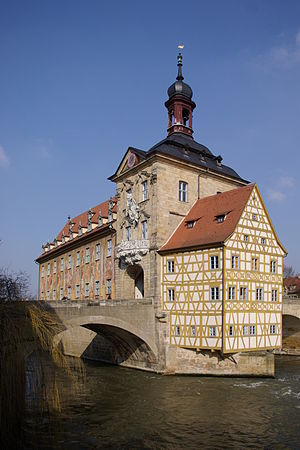 The old townhall of Bamberg