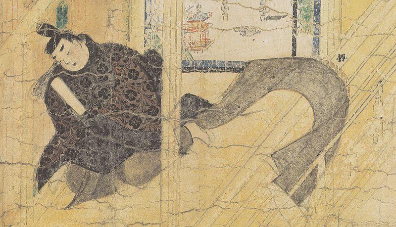 File:Ban Dainagon Ekotoba - Court of Emperor Seiwa detail.jpg