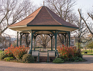 Denmark Hill - The Bandstand at Ruskin Park