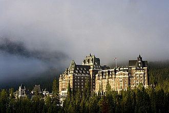 Canada's grand railway hotels - Banff Springs Hotel is one of several grand railway hotels built across the country.
