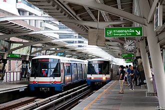 Rail transport in Bangkok - The BTS Skytrain