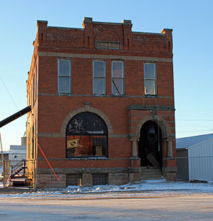 National Register of Historic Places listings in Haakon County, South Dakota - Image: Bank of Midland Building