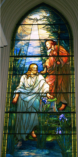 Baptism of Christ by Tiffany