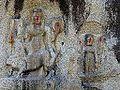 Barabar Caves - Carvings at Kawa Dol (9227334370).jpg