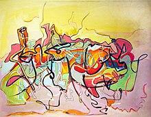 Arte abstrata geometrica e informal