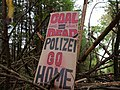 Barrier with protest-signs in the Hambach forest 12.jpg