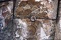 Basilica Complex, Qanawat (قنوات), Syria - West part- remains of geometric wall painting on western conch of adyton - PHBZ024 2016 3560 - Dumbarton Oaks.jpg
