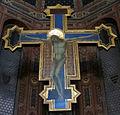 Basilica dei servi, siena 10 ugolino di nerio, croce dipinta 2.JPG