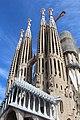 Basilique Sagrada Familia façade sud ouest Barcelone 10.jpg