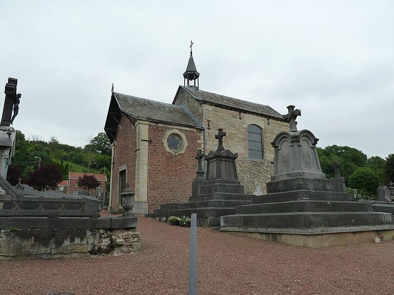 La chapelle du Vi Mosti, Bassenge, Belgique