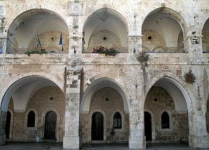 Jewish Quarter (Jerusalem) - Rothschild House (1871), part of Batei Mahse complex (1860-90)