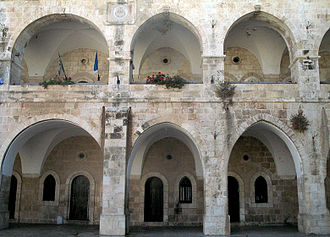 Jewish Quarter (Jerusalem) - Rothschild House (1871), part of Batei Mahse complex (1860-90)