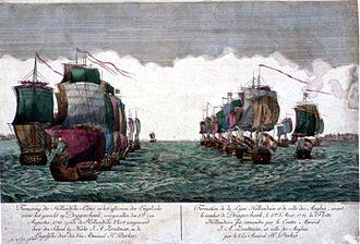 John MacBride (Royal Navy officer) - The Battle of Dogger Bank, 5 August 1781