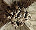 Batz-sur-Mer, église Saint-Guénolé, 15e siècle, Clefs de voûte, 15e siècle, Les 7 péchés capitaux.jpg