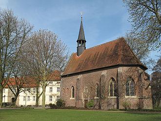 Herne, North Rhine-Westphalia - Image: Baukau, Schlosskapelle Strünkede foto 1 2012 03 28 10.32