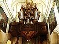 Bazylika w Koronowie-barokowe organy.JPG