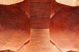 Beauty of Lines in Shah Jahan Mosque ( Thatta ).JPG