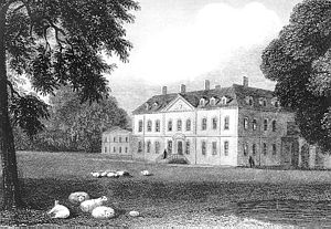 Beechwood Park (mansion) - Beechwood Park in the early 18th century shortly after the completion of the new facade.