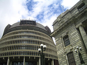 Beehive, Wellington, New Zealand