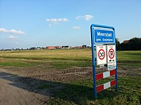 Begin van de Driemerenweg in Meerstad (2014).jpg