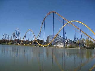 Behemoth (roller coaster) roller coaster Wonderland in Vaughan, Ontario, Canada