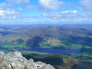 Beinn a Chuallaich 892m high mountain in Scotland