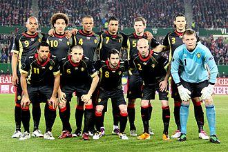 Daniel Van Buyten - Van Buyten, top right, with the national team against Austria in 2011