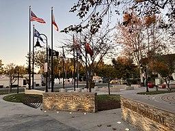 Bellflower memorial 1