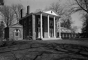Belvidere (Belmont, New York) - HABS Photo of Belvidere, May 1967