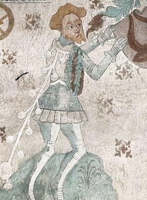 Bengt Jönsson (Oxenstierna) - Bengt Jönsson Oxenstierna as depicted in Tensta Church