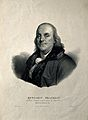 Benjamin Franklin. Lithograph by A. Maurin after J. S. Duple Wellcome V0002039.jpg