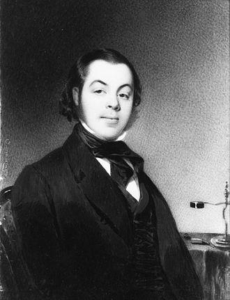 Benson John Lossing - Benson John Lossing by Thomas Seir Cummings (ca. 1835)