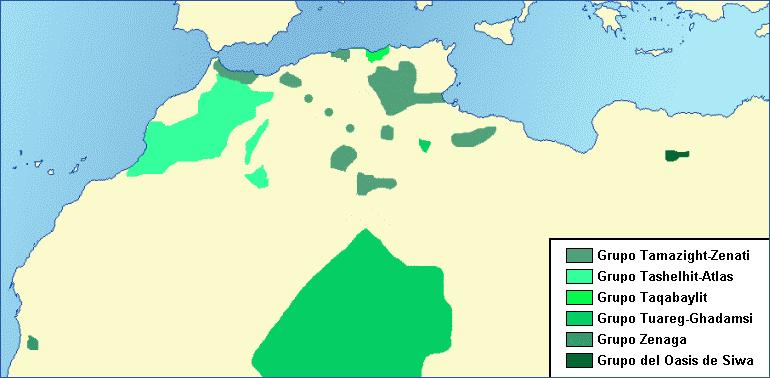Berber-map