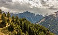 Bergtocht van Gimillan (1805m.) naar Colle Tsa Sètse in Cogne Valley (Italië). Zicht op de omringende alpen 01.jpg