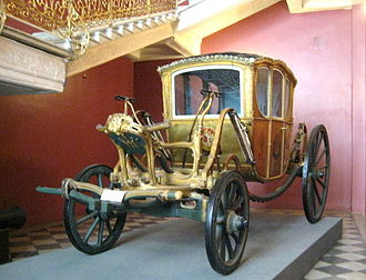 Berlin (carriage) - 1760s. Moscow Historical Museum