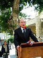 Bertrand Delanoë in The inauguration ceremony renovation Paris Square in Haifa (6).jpg