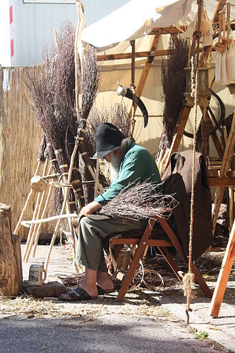 Broom - Making brooms, 2012