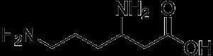Beta-Lysine - Image: Beta lysine
