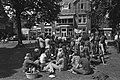Bezetting Bloemenhovekliniek, Heemstede, bezetsters voor kliniek, Bestanddeelnr 928-6045.jpg