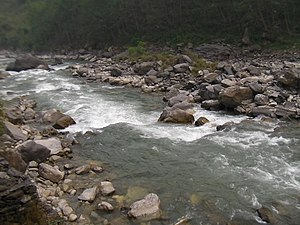 Bhote Koshi - Bhote Koshi near the Tibetan border during dry season