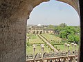 Bhul bhulaiya lucknow main entrance from the roof.jpg