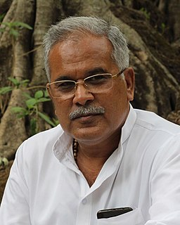 Bhupesh Baghel Indian politician and Current Chief Minister of Chhattisgarh