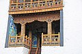 Bhutan - Punakha Dzong - Monks living quarters - panoramio.jpg