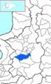 Bibai in Sorachi Subprefecture.png