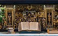 Bible main altar Roskilde cathedral Denmark.jpg