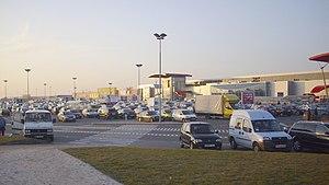 Bielany Wrocławskie - Shopping centre